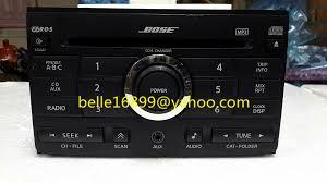 bose car stereo. ni-san 28185 ze50b clarion pn-2837db boses 6 dsic cd changer for hond bose car stereo o