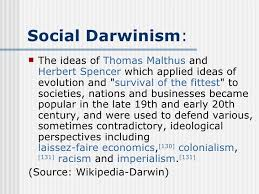 darwin racism and genocide social darwinism