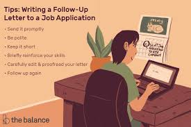 Folow Up Letter Sample Email Letter To Follow Up On A Job Application