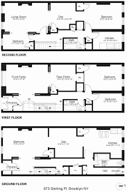 brownstone row house floor plans inspirational row house plans lovely cool brownstone row house floor plans