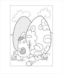 Baskets, bunny, eggs and more great pictures and sheets to color. Free 18 Easter Coloring Pages In Ai Pdf