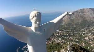 Maratea Cristo Redentore - riprese aeree drone - YouTube