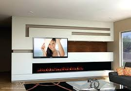 fireplace in the wall modern media wall design with long modern fireplace fireplace wall ideas 2018 fireplace in the wall