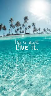 screen background image handy living: la vida es corta ava vela frases verano summer
