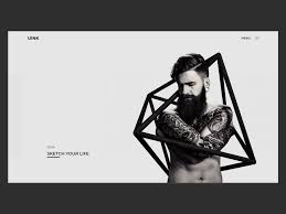 Uink Tattoo Store By Sc Studio Design On Dribbble
