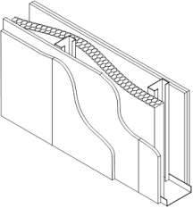 metal studs dimensions. steel frame building wall detail - google search metal studs dimensions