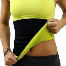 Women Hot Slimming Belt Neoprene Waist Belts Body Shaper Training.