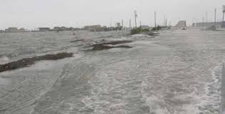 Massive Storm Surge Swallows Surfside Beach Houston Chronicle