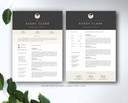 Resume Template For Ms Word Templates Creative Market Microsoft 20