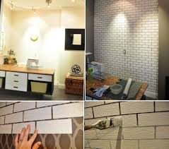 Faux Exposed Brick Simple Ways To Recreate The Look Of Real Exposed Brick Walls
