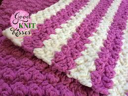 Super Bulky Yarn Baby Blanket Crochet Patterns