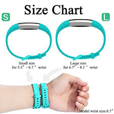 Fitbit Alta Hr Size Chart Maledan Replacement Bands Compatible For Fitbit Alta Alta