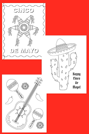 See what cinco de mayo (may 5th) celebrates and why it is such a special holiday!❤. Cinco De Mayo Color Pages Life Is Sweeter By Design