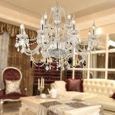 LIGHT VENETIAN MURANO STYLE CRYSTAL CHANDELIER KITCHEN FOYER - Dining room crystal chandeliers