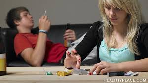 Why are teens addicted to drugs