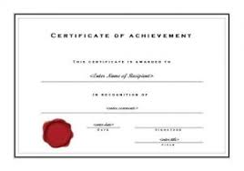 Free Online Printable Certificates Of Achievement Official Certificate Template Customize 1968 Certificate Templates