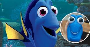 man s cute finding dory lamp it s so demonic when turned on he almost has a heart mirror