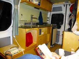 galley cabinetry in the willimann diy sprinter camper van photo urs willimann
