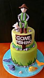 40 Best Fishing Theme Cake Images Fishing Theme Cake Cake Ideas