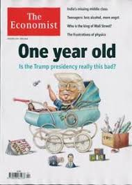 economist cover the economist magazine 13th january 2018 donald trump cover ebay