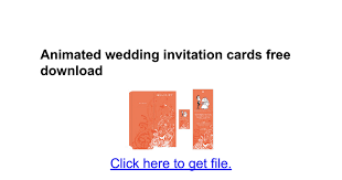 animated wedding invitation cards free download google docs Animated Wedding Invitation Cards Free Download Animated Wedding Invitation Cards Free Download #49 animated wedding invitation ecards free download