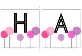 Free Birthday Banner Downloads Dimple Prints