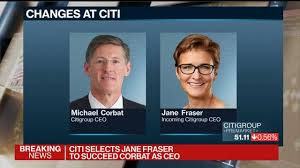 Citi Picks Jane Fraser to Be Next CEO as Michael Corbat to Retire in  February - Bloomberg
