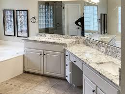 granite bathroom vanity tops make the