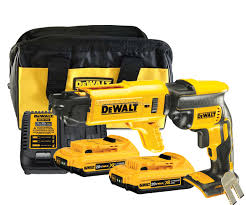 dewalt screw gun. dewalt 2.0ah dcf620 drywall screwgun + dcf6201 colated attachment dcf620\u0026dcf6201d2 dewalt screw gun