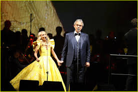 kristin chenoweth joins andrea bocelli for special concerts at madison square garden