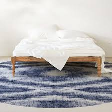 vinyl rug round stardust 2 colors