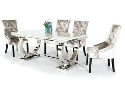 um size of black chrome dining table chairs canada and only 1950s