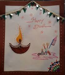 Diwali Greeting Card Happy Diwali Card Handmade Diwali