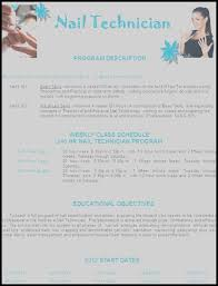 Nail Technician Resume Cover Letter Sample Nail Technician Cover ...