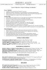 Management Skills Resumes Project Management Sample Resume