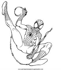 Disegni Spiderman Da Colorare Az Colorare