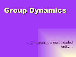 group dynamics and team development