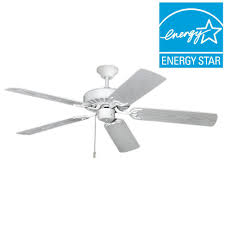 pure white outdoor ceiling fan