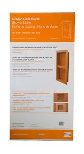 schluter kerdi board sn shower niche with shelf 12 x28 kb12sn305711a1 sch2026