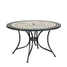 marble top round outdoor dining table home styles marble top round