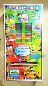Pencil Vending Machine Stunning Pencilvend Iron Pencil Vending Machine E R Ventures ID 48