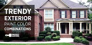 exterior house painting colorsTrendy Exterior House Paint Combinations