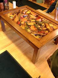 hand carved coffee table from germany african antique