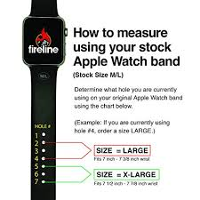 Fireline Diameter Chart Fireline Paracord Watch Band For 42mm And 44mm Apple Watch