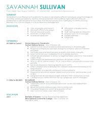 Hr Coordinator Resume Sample Release When Applying For Jobs