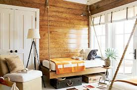 hanging twin bed