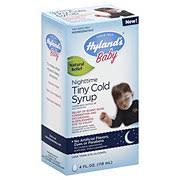 Hyland's <b>Baby</b> Nighttime <b>Tiny Cold</b> Syrup ‑ Shop Herbs ...