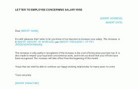 raise salary letter salary increase letter template bizorb in raise letter to employee