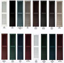 black exterior window shutters. Simple Black Vinyl Shutters Cathedral Louver Exterior 52 To Black Exterior Window Shutters M