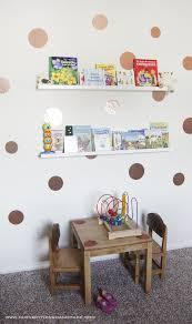 diy kids room wall decor and book